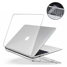 "Macbook Air Pro Glossy Crytsal Clear Case + Keyboard Cover 11"" 12'' 13"" 16"" inch"