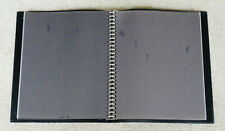 "K & M CO PM14 DELUXE BINDER ~ SHEET / DOCUMENT PROTECTOR ~ SOFT COVER 12.5""x15"""