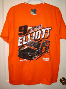 2021 Chase Elliott HOOTERS #9 CFS 1-Spot Qualifying T-Shirt Size Large IN STK