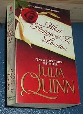 What Happens in London by Julia Quinn historical romance 9780061491887 bOOk