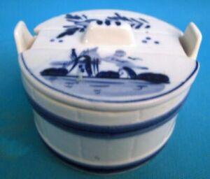 Butter Dish Ceramic Of Delf Ref 302762088943