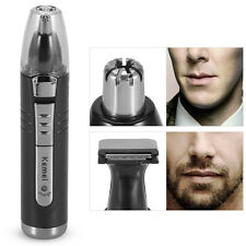 KEMEI Electric Nose Ear Hair Trimmer Eyebrow Beard Shaving Cutter Clipper EUPlug