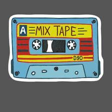 Old School Mix Tape D90 Cassette Classic Vinyl Car Sticker Decal Phone Case DIY