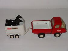 Tonka Stables 42620 Truck Trailer & Horses Classic 70's