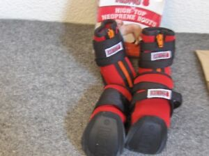 NEW - KONG HIGH TOP NEOPRENE BOOTS - MEDIUM SIZE - GREAT FOR ALL WEATHER -!!!