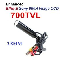 Color High Resolution Weatherproof CCTV 'Lipstick' Bullet Camera with 700TVL