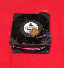 Delta 12V DC 80mm Cooling Fan FFB0812VHE, 570mA, 4200 RPM, 57 CFM, PC/CPU Cooler