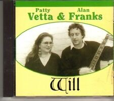(DH305) Patty Vetta & Alan Franks, Will - 1995 CD