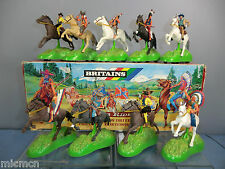 """BRITAINS MODEL No.7478 """" WILD WEST"""" FRICTION  POWER RIDERS   VN MIB"""