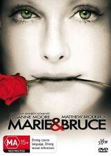 MARIE & BRUCE Julianne Moore DVD R4 - PAL - New