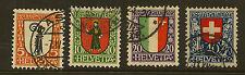 SWITZERLAND:1923 Children's Fund ( Pro Juventute)  set SG J24-7 used