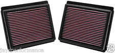 KN AIR FILTER REPLACEMENT FOR INFINITI M35 3.5L V6; 09-10 (2 PER BOX)