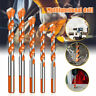 4PCS Triangular Handle Drill Bits Multifunction Ceramic Metal Bit 6-12mm UK