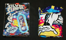 "Marvel Comics ""Silver Surfer"" Bop Bag - 1997 Signed by Stan Lee"