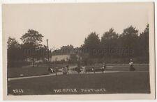 The Green, Mortlake, London RP Postcard B849