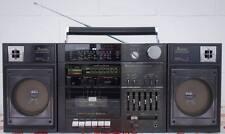 1985er gran radio grabador mitsubishi TX 86 Portable compo ghetto blaster