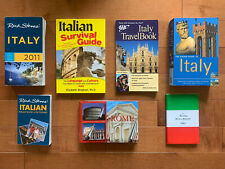 7 Italy Travel Guidebook: Rick Steve;Rough Guide;Phrase Book;Rome;Survival Guide