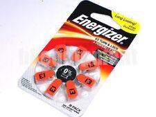 energy 13 AC13 ZA13 DA13 PR48 Orange Hearing Aid battery x8