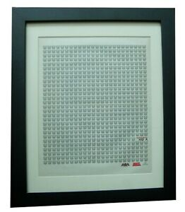 RADIOHEAD+Kid A+POSTER+AD+ORIGINAL 2000+TOP QUALITY FRAMED+EXPRESS GLOBAL SHIP