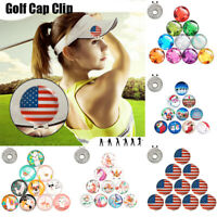 10pc Magnetic Golf Cap Clip Ball Marker Golf Accessories Training Aids Suppliers