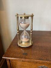 More details for vintage very large brass timer egg timer clock