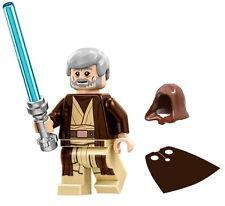 LEGO STAR WARS MINIFIGURE OBI-WAN KENOBI HOOD CAPE LIGHTSABER 75159