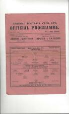 Arsenal v Brentford Football Programme 1945/46