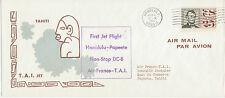 2415 FRENCH POLYNESIA 1961 FF HONOLULU HAWAII – PAPEETE Tahiti, FRENCH POLYNESIA