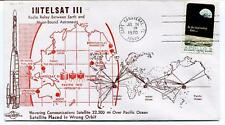 1970 Intelsat III Radio Relay Earth Moon-Bound Astronauts Orbit Pacific Ocean