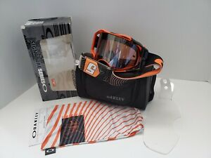 NEW Oakley Airbrake MX Goggles Ryan Dungey Sig. Fastlines Org/ Grey Prizm MX Blk
