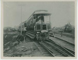 1900s New Britain Berlin Hartford Street Car Photo Third Rail Electric Traction