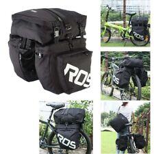37L Fahrradtasche Satteltasche Doppeltasche Gepäcktasche Packtaschen Wasserdicht