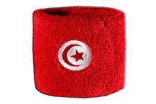 Schweißband Fahne Flagge Tunesien 7x8cm Armband für Sport