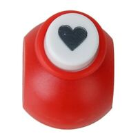 Mini Paper Punch Scrapbooking Craft Heart Shape--Random Color V4T2