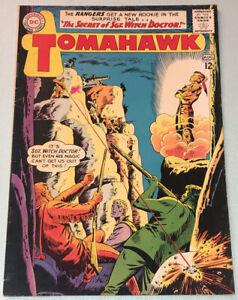 Tomahawk #87 VG+ 1963 DC Comic Book Silver Age Western