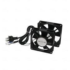 Titan AV Dual 240V Roof Mount Cooling Fan Kit - Server Rack Data Cabinet