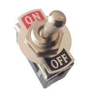 Hot 1pc 12V Heavy Duty Toggle Flick Switch ON/OFF Car Dash Light Metal%