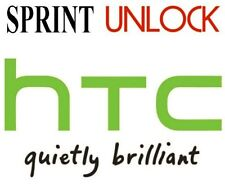 HTC Sprint sim unlock service, remote, Worldwide, all models supported