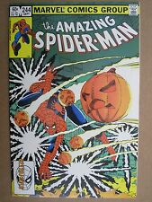 1983 MARVEL COMICS THE AMAZING SPIDER-MAN #244 3RD APPEARANCE HOBGOBLIN CAMEO
