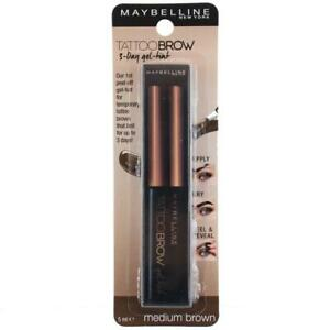 Maybelline Tattoo Brow Gel Tint Medium Brown 5mL