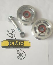 Double Idler Pulleys kit E55 AMG 1132020419 M113K mercedes CLS55 s55 sl55 cl55