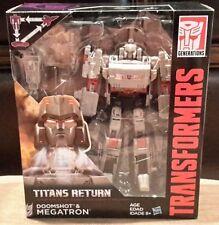 MEGATRON 2017 Hasbro-Transformers movies- Voyager Class-Titans Return- mint NIB