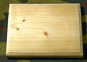 14 x 17cms Plain pine Wood Plaque Door Sign Blank Decoration any size possible
