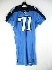 Michael Roos 2006 Tennessee Titans NFL Jersey Autographed by Michael Roos
