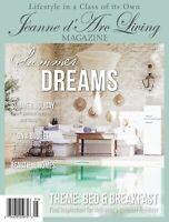 Jeanne d 'arc Living*Magazin*5.*JUNI 19* Zeitschrift*Shabby Chic*Sommerträume*