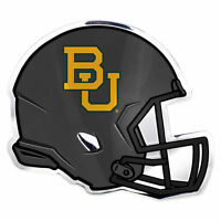 "NCAA Officially Licensed Baylor Bears Helmet Premium Aluminum Emblem 4""x3.5"""