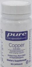 Pure Encapsulations - Copper - 60 Capsules