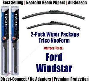 2pk Super-Premium NeoForm Wipers fit 1995-2003 Ford Windstar - 16240/200