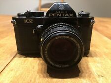 Asahi Pentax K2 35mm SLR Camera w/ SMC 50mm f/1.4 Lens From JAPAN