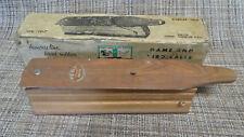 Vintage P.S. Olt Gb-110 Box Type Turkey Call Iob